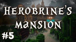 Herobrine's Mansion - It's Legit Him!! (Part 5)