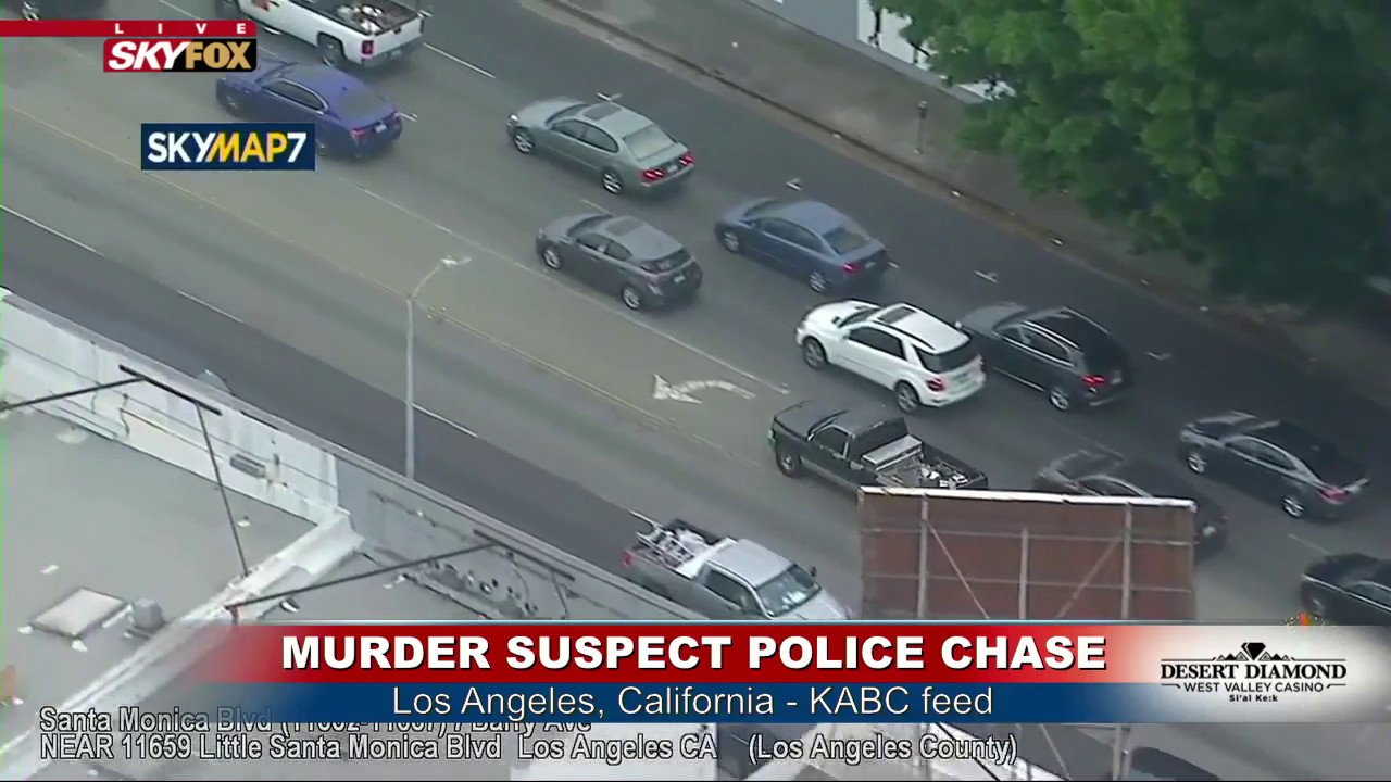 FNN: Two suspects in custody following Los Angeles police chase