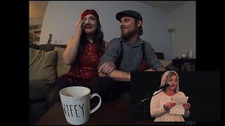 COUPLE HAS EMOTIONAL REACTION TO THEIR WEDDING FILM