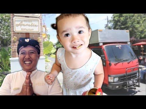 2 Year Old Zee Tries a Fancy Hotel in Sanur, Bali