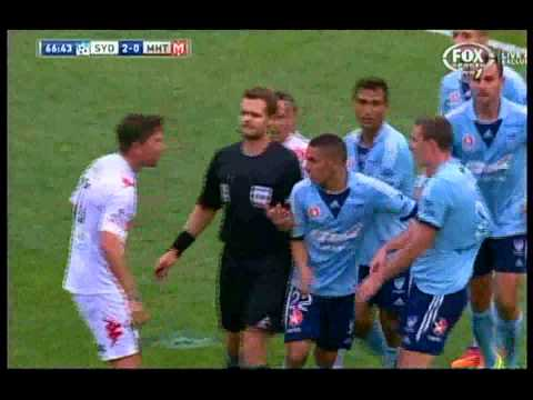 Harry Kewell Worst Penalty Shot Of All-time Sydney FC VS Melbourne Heart