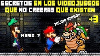 Top 8: Secretos en Los Videojuegos que No Creeras que Existen (PARTE 3) - Pepe el Mago