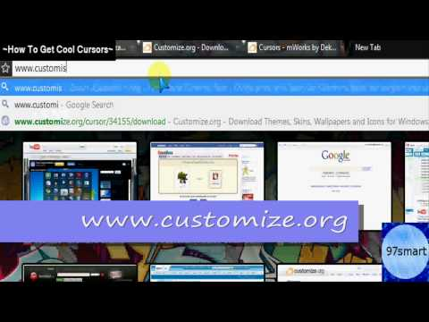 How To Get Cool FREE Mouse Cursors - YouTube