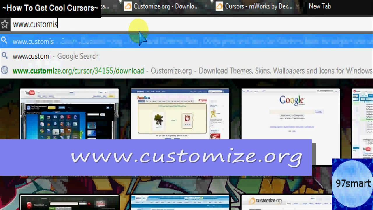 Browse Windows Cursors