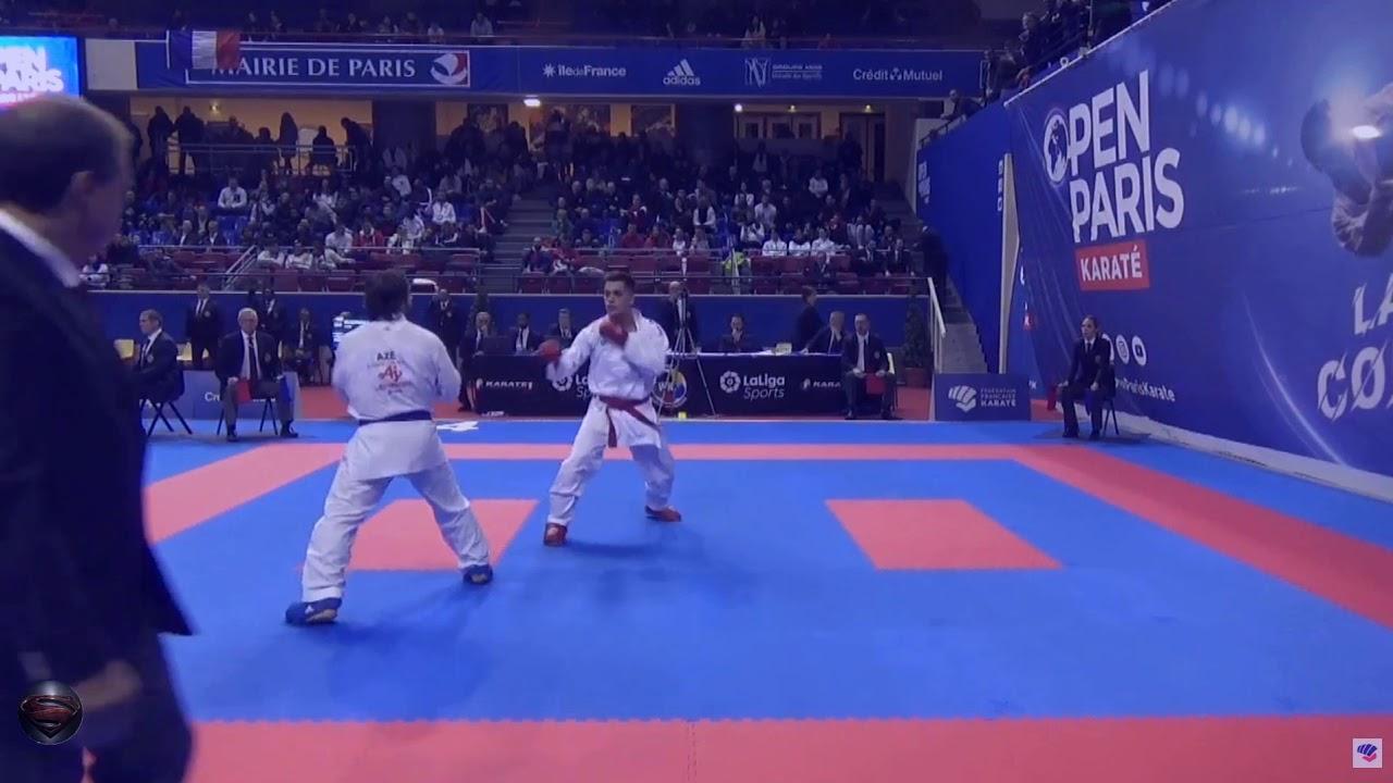 Rafael Aghayev - Male Kumite -75Kg (Paris 2020)