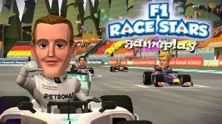 F1 Race Stars (demo gameplay) - Formuła 1 na wesoło