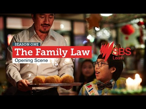 The Family Law: Opening Scene | SBS Learn