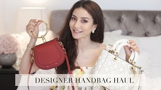 Designer Bag Haul Video