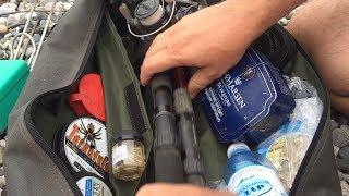 Сумка рыбака,все самое необходимое для рыбалки,берем в авто или отпуск. Стратегическая сумка рыбака.