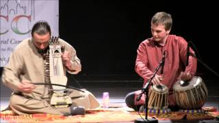 concert of indian music - sarangi (Bart Pałyga) & tabla (Piotr Malec)