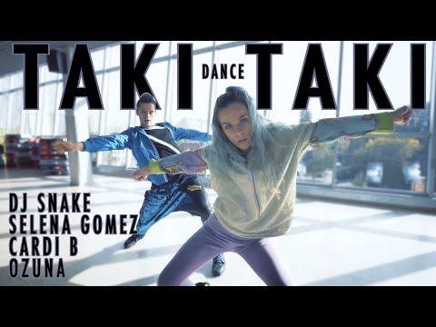 Taki Taki - Dj Snake ft Selena Gomez Ozuna Cardi B Dance - Patman Crew Choreography