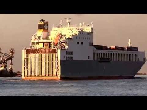 Thames Shipping by Richie Sloan, The WLHELMINE and  BERLIN Part 1B.