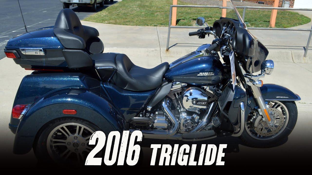 The 2016 Harley Davidson Tri Glide Ultra Provides Three: SOLD! 2016 Harley-Davidson® FLHTCUTG