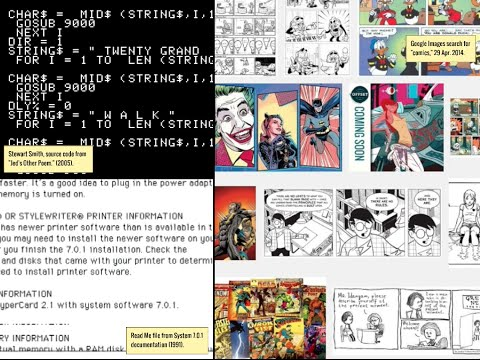 Space Into Game, Time Into Book: What Comics and Screens Do Together