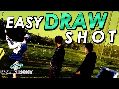 Easiest Draw Shot You'll Ever Make – Golf Swing Tips