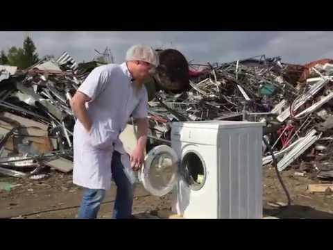 self destructing washing machine epic hotpoint self d doovi. Black Bedroom Furniture Sets. Home Design Ideas