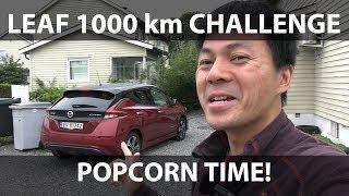 Nissan Leaf 62 kWh 1000 km challenge