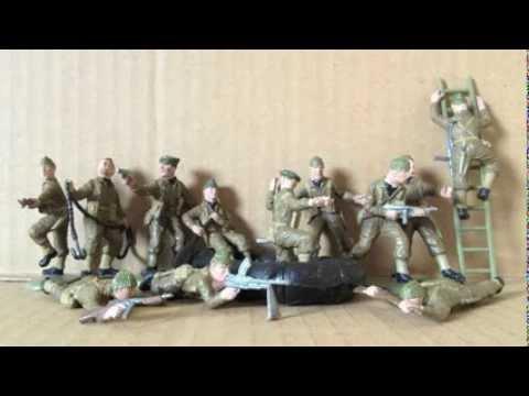 MATCHBOX 1/32 SCALE BRITISH COMMANDOS