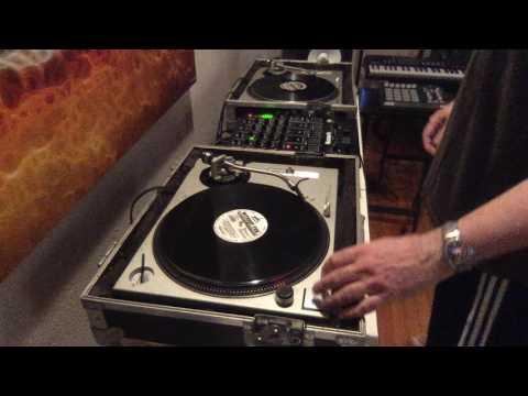 "Old Skool ""Florida Breaks"" DJ mix from 1990s vinyl records"