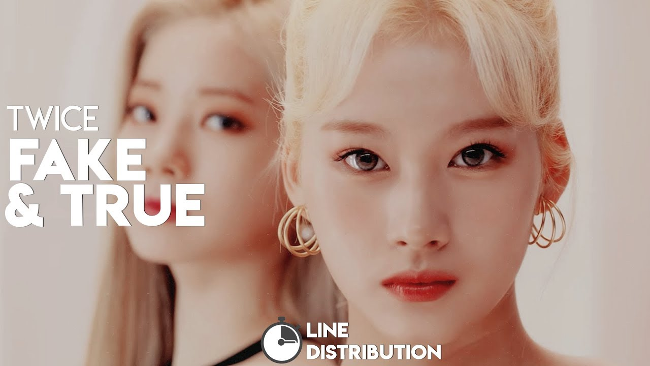 Twice 트와이스 Fake True Line Distribution Youtube