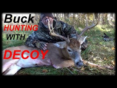Deer Hunting 2018 -  BUCK With DECOY