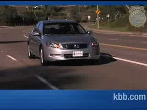 2008 Honda Accord Review - Kelley Blue Book - YouTube