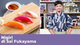 HOME MADE SUSHI-NIGIRI: Original Japanese recipe from Sai Fukayama