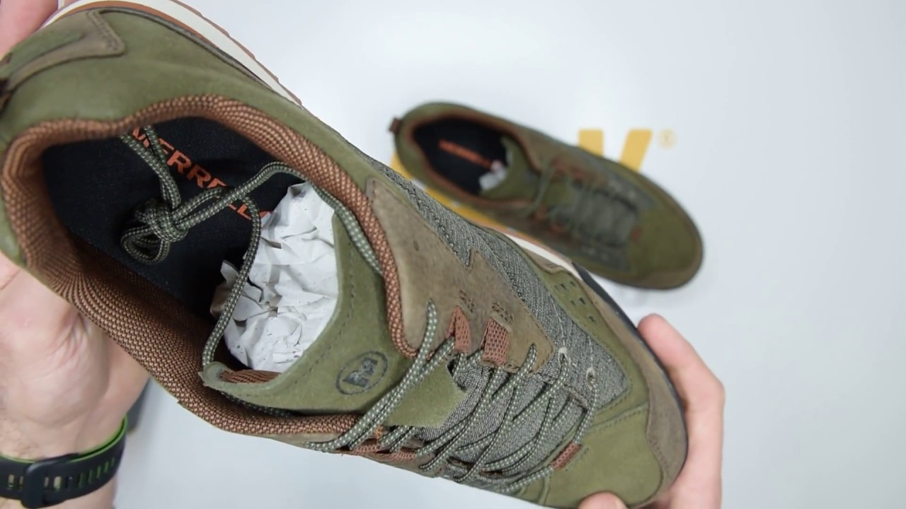 15f76e9567390 Merrell Burnt Rock - Dusty Olive - Unboxing | Walktall - YouTube