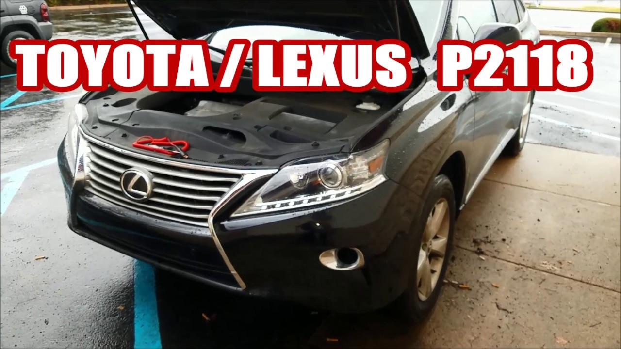 Lexus Rx350 P2118 Wont Accelerate Etcs Also Fuse Box Location Toyota 2001 Es 300 Rx