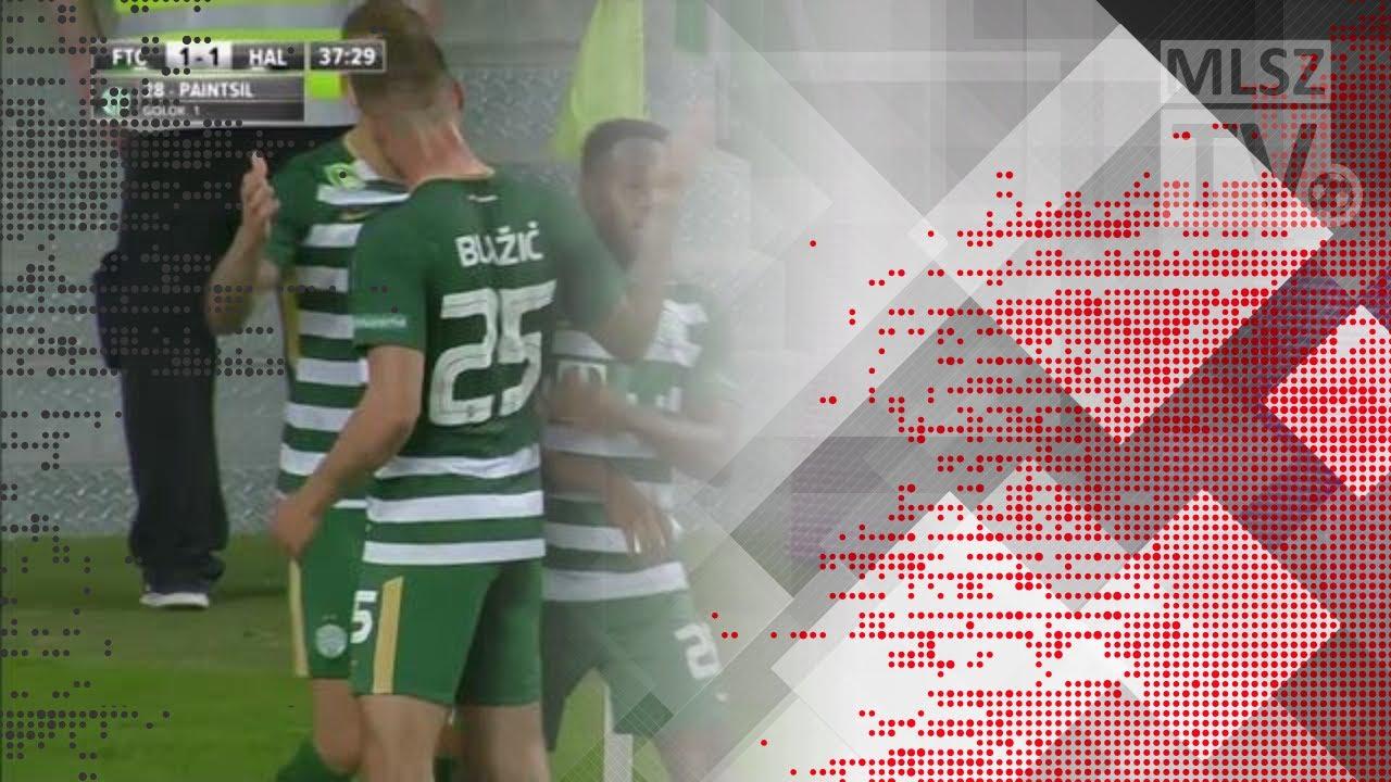 Paintsil Joseph gólja a Ferencvárosi TC - Swietelsky Haladás mérkőzésen