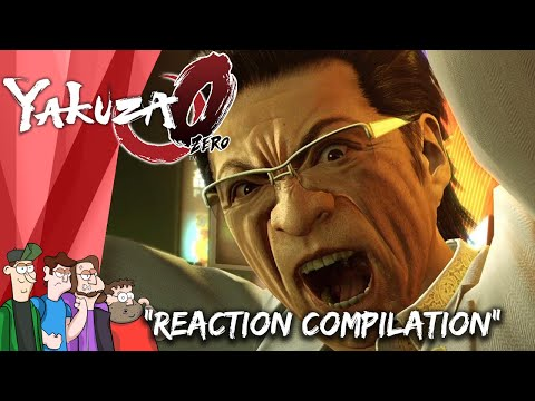 yakuza-0-reaction-compilation