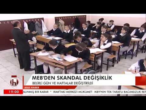 MEB'DEN SKANDAL DEĞİŞİKLİK