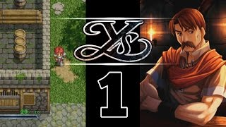 Ys Chronicles 1 - PC Commentary Gameplay Walkthrough - Ep01 Thieves