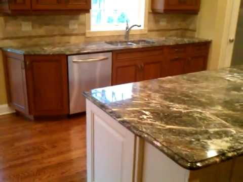 rainforest green marble kitchen countertops - youtube