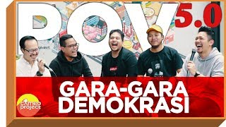 INDONESIA YOUTUBERS CLUB : GARA-GARA DEMOKRASI, KAMI DI**** feat. COKI, MUSLIM & ENO BENING