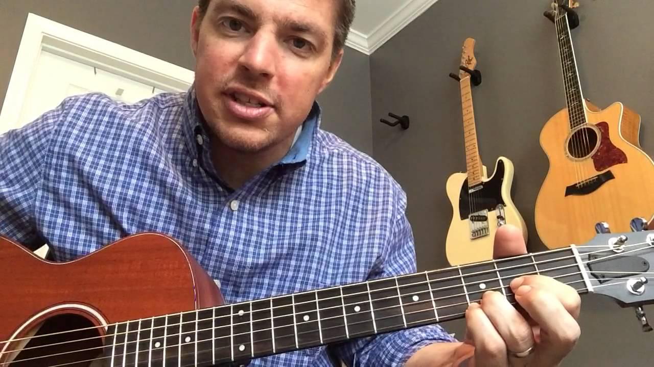 I Have Decided To Follow Jesus Beginner Guitar Lesson Matt Mccoy