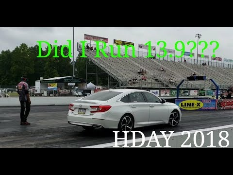 Took my 2018 Honda Accord 2.0T to the track (FAST)