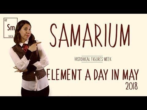 May 1st, 2018  - Samarium - Historical Figures Week #ElementADayInMay