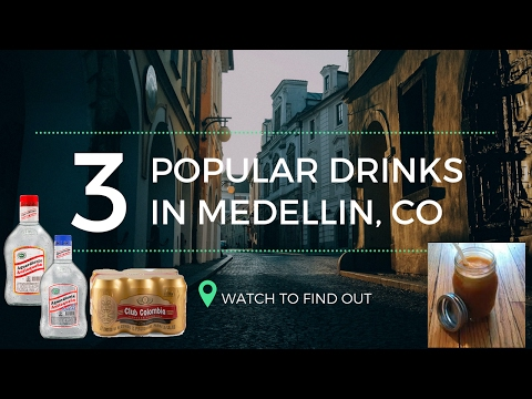 Popular Drinks in Medellin Colombia | Discovering Aguardiente, Local Beer, & Fresh Juice