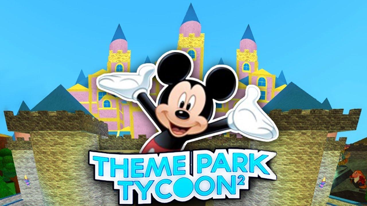 Insane Disneyland Park In Theme Park Tycoon 2 Roblox Youtube