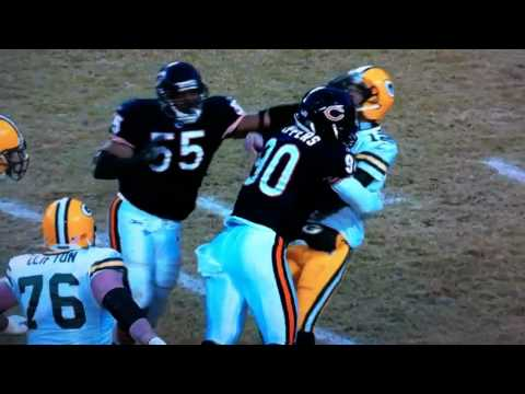 Julius Peppers crushes Aaron Rodgers! (HD)