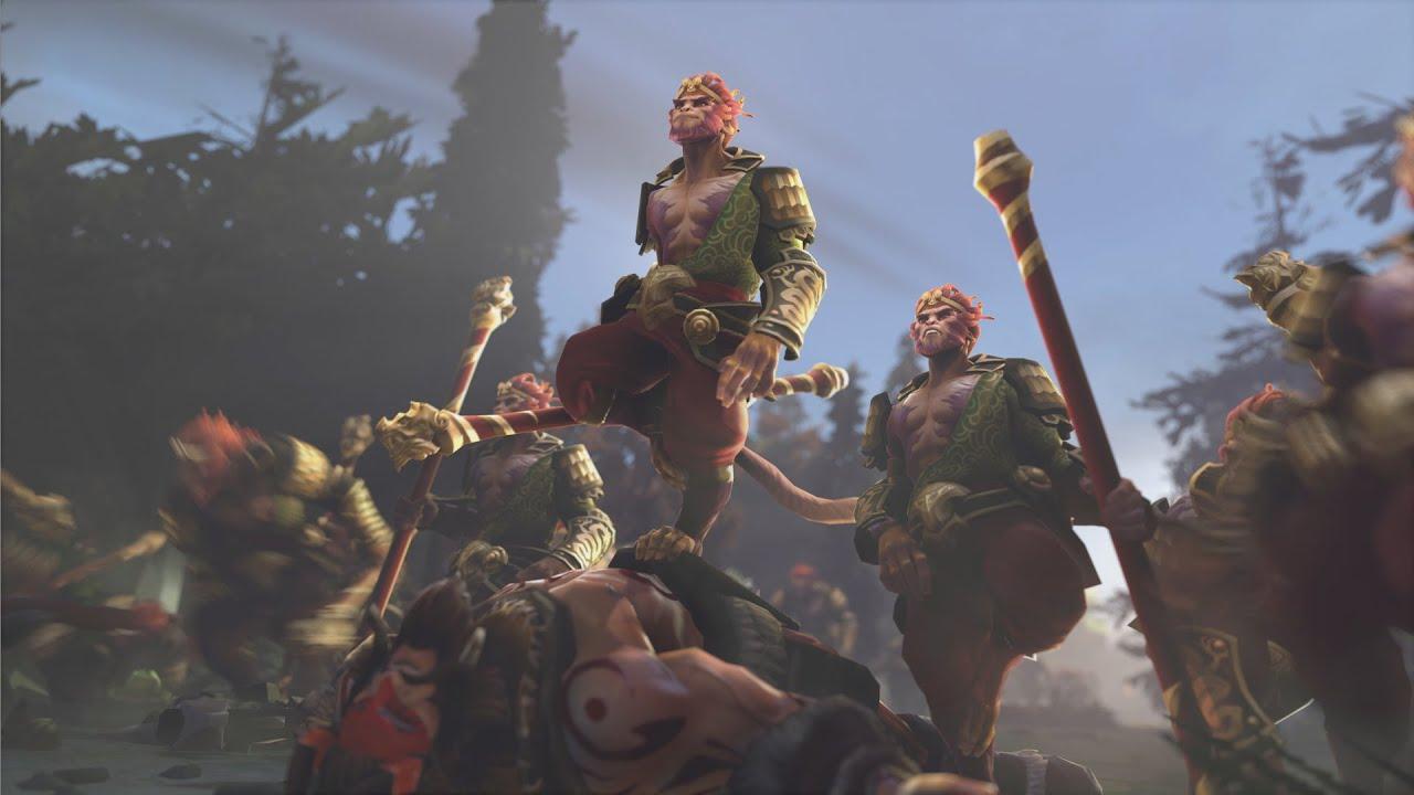 Image result for monkey king dota 2