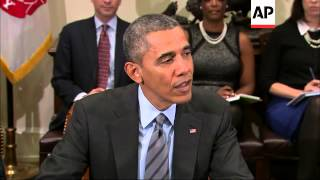 President Barack Obama met with business leaders Tuesday to highlight his support for pushing a pack