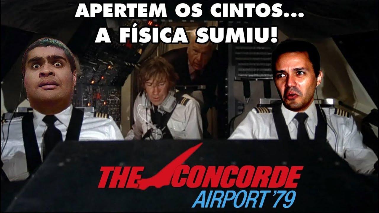 Diarreia Cinematográfica Live: Aeroporto 79: O Concorde