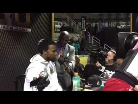 Josh Norman Gets Testy With Deion Sanders - Super Bowl Media Day #SB50