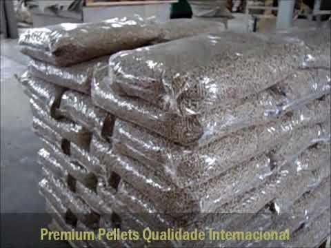 Industrial WoodPellets Exportação Italia
