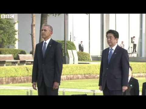 President Obama visited Hiroshima (Japan)