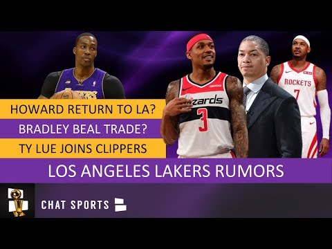 lakers-trade-rumors-on-dwight-howard,-bradley-beal-&-kyle-kuzma-+-carmelo-anthony-latest