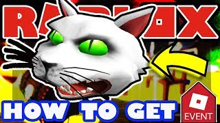 [EVENT] How To Get the Possessed Cat Head - Roblox 2018 Halloween Tutorial - Robloxian Highschool