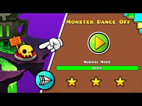 Geometry Dash World - Monster Dance Off 100% [TOXIC FACTORY]   Geometry Dash World   SirKaelGD